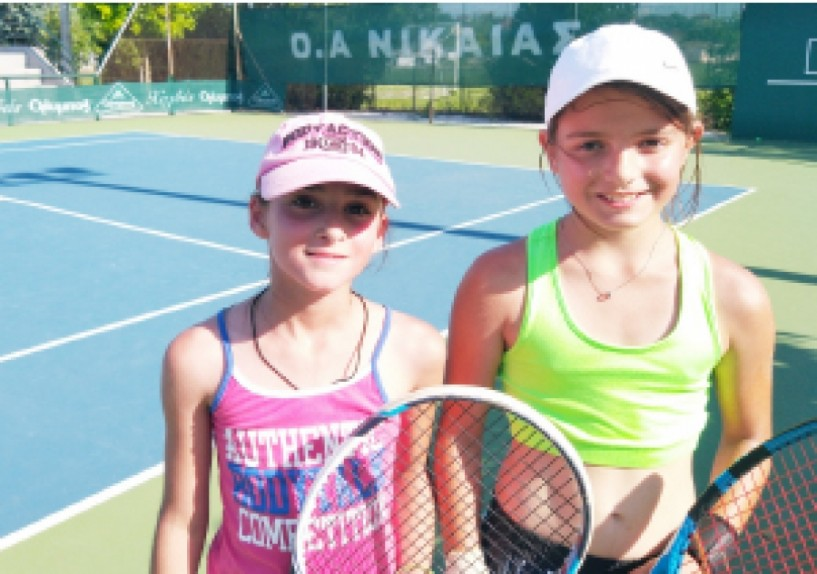 Τένις - Β΄ Φάση Πανελληνίου Πρωταθλήματος Ατομικό U10 - Μετάλλιο στη Λάρισα για την Κάτια Πατσίκα