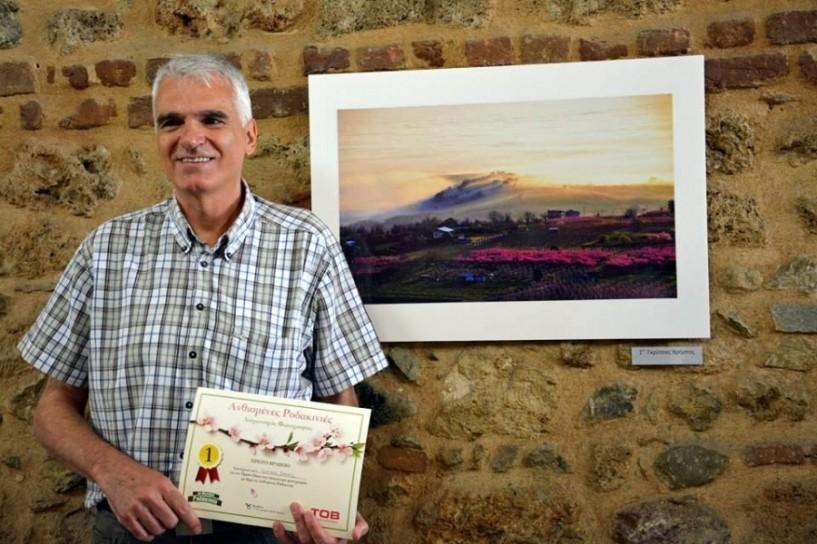 Βραβεία και διακρίσεις του διαγωνισμού φωτογραφίας του ΤΟΒ με θέμα τις ανθισμένες ροδακινιές