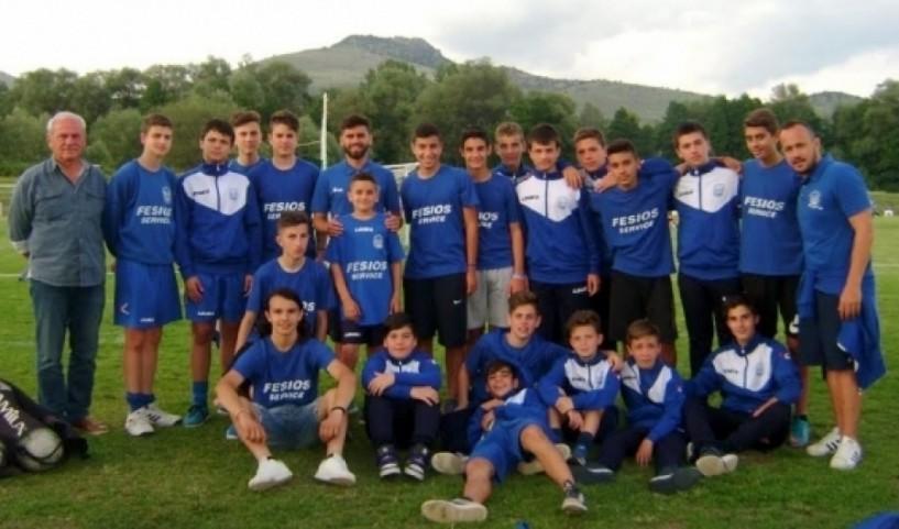 Σε τουρνουά ακαδημιών στην Καστοριά και την Κουλούρα η παιδική ομάδα του ΦΑΣ Νάουσα