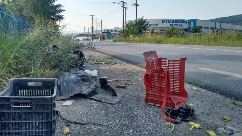 Νεκρός 72χρονος οδηγός τρακτέρ σε τροχαίο στο 1ο χιλιόμετρο Σ.Σ. Νάουσας-Βέροιας