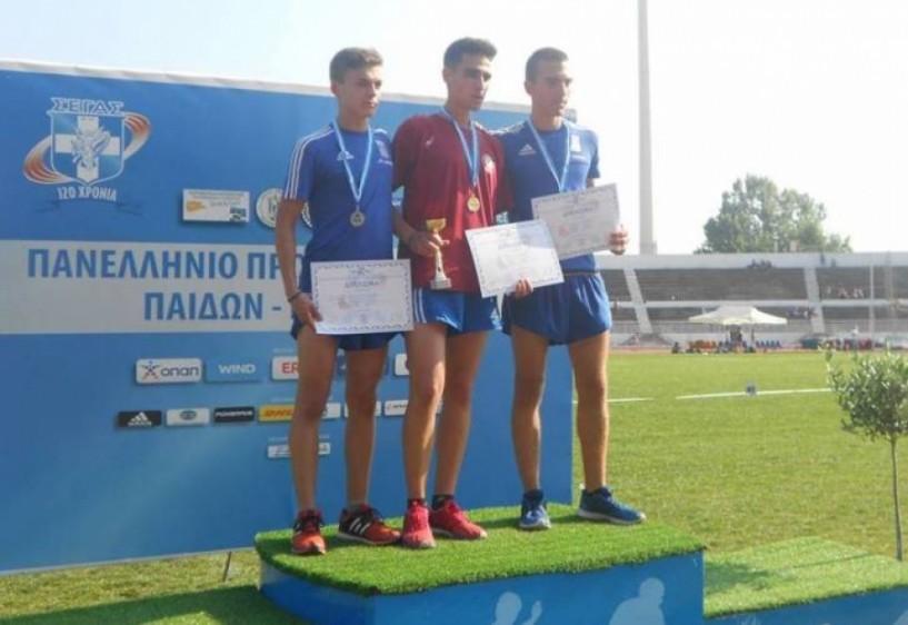 Τρία μετάλλια ο Φίλιππος Βέροιας στο πανελλήνιο πρωτάθλημα παίδων - κορασίδων