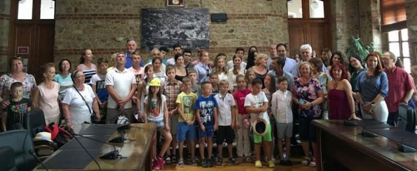 Μαθητές από το Πούσκιν της Αγίας Πετρούπολης στη Βέροια