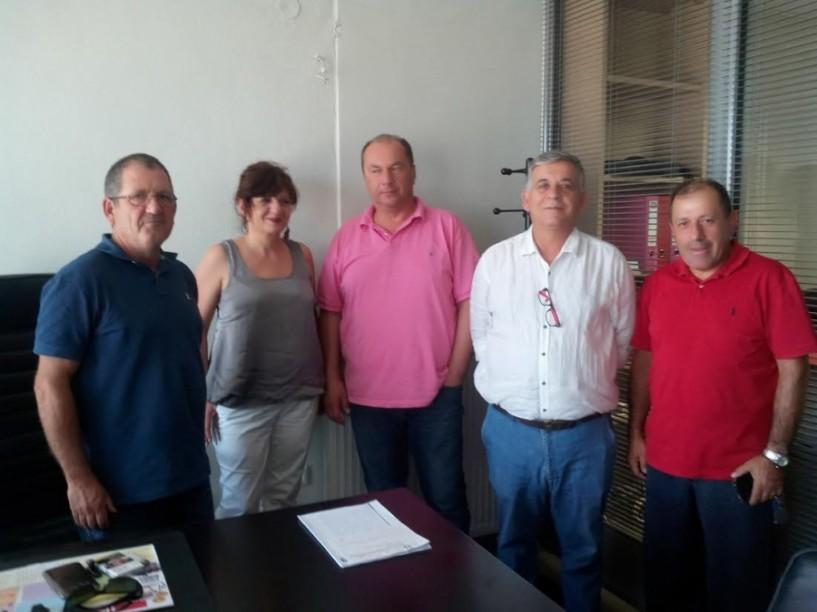 Φρόσω Καρασαρλίδου: Συνεχίζει την περιοδεία της στους αγροτικούς συνεταιρισμούς