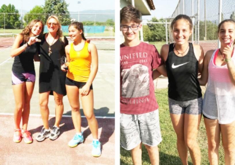 2η και 3η θέση για τη Θένια Παυλίδου στο πανελλαδικό πρωτάθλημα τένις της Βέροιας