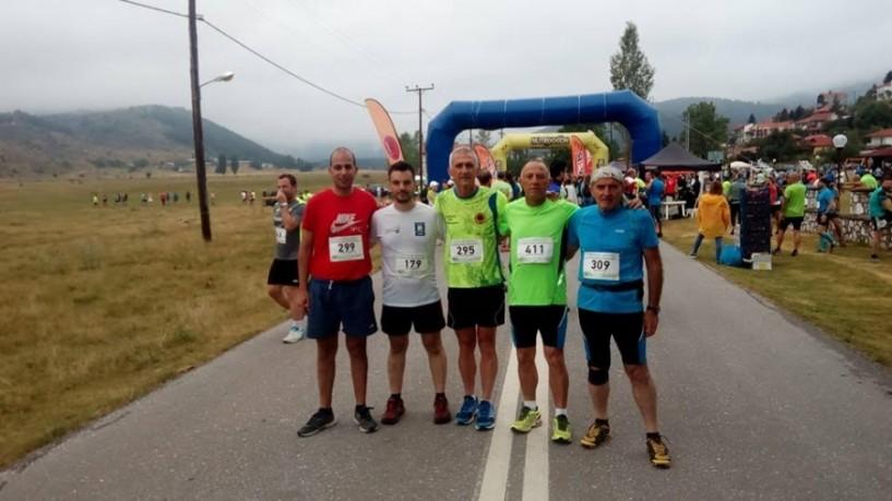 Επτά συμμετοχές Ναουσαίων στον ορεινό αγώνα Ξηρολιβάδου
