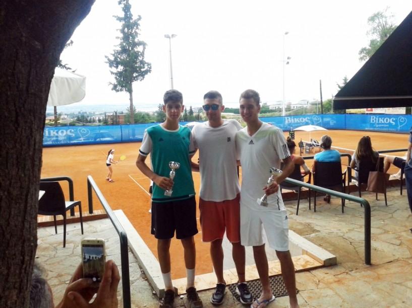 Ασταμάτητος ο Δημοσθένης Ταραμονλής στο πρωτάθλημα τένις
