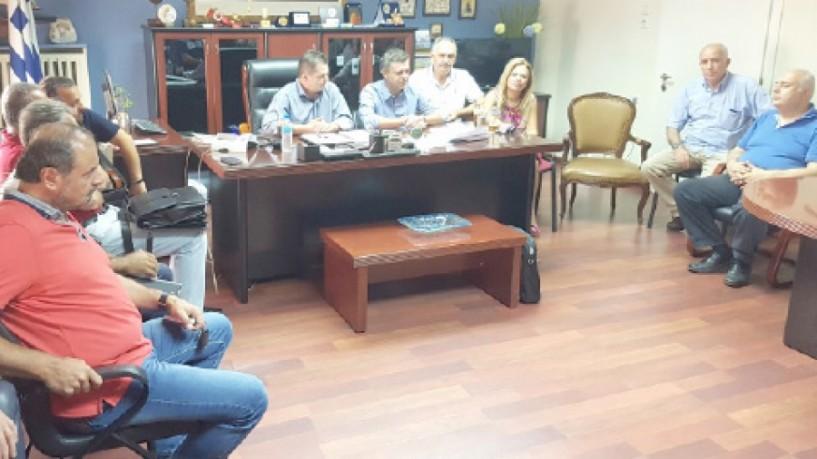 Σύσκεψη για την Τάφρο 66 - Κ. Καλαϊτζίδης: Ποτέ δεν είχαμε πρόβλημα με τη λειτουργία των βιολογικών  καθαρισμών στις επιχειρήσεις της Ημαθίας