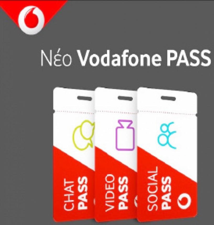 Ξέχνα τα GB και καλωσόρισε το νέο VodafonePass