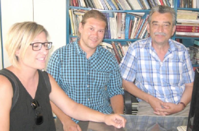 David Koytek, κοινωνικός λειτουργός στη δομή πρόνοιας Caritas: Στη Γερμανία η δουλειά μας είναι επάγγελμα. Στην Ελλάδα ζουν γι αυτήν