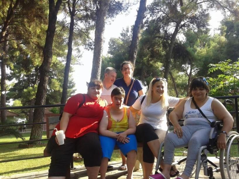Η κατασκήνωση των παιδιών του ΚΔΑΠ-ΜΕΑ στη Μεταμόρφωση Χαλκιδικής