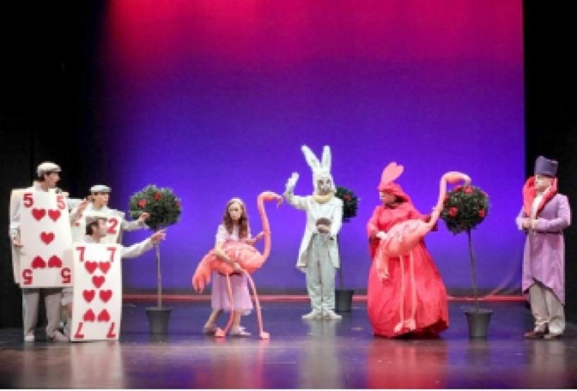 Tην Τρίτη 29 Αυγούστου -  «Η Αλίκη στη χώρα  των θαυμάτων» από τις μαγικές σβούρες στο θέατρο Άλσους