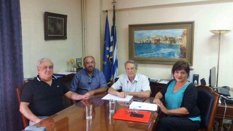 Στον Α.Σ. Επισκοπής για τα ακτινίδια ο γ.γ. του υπουργείου Αγροτικής Ανάπτυξης κ. Αντώνογλου