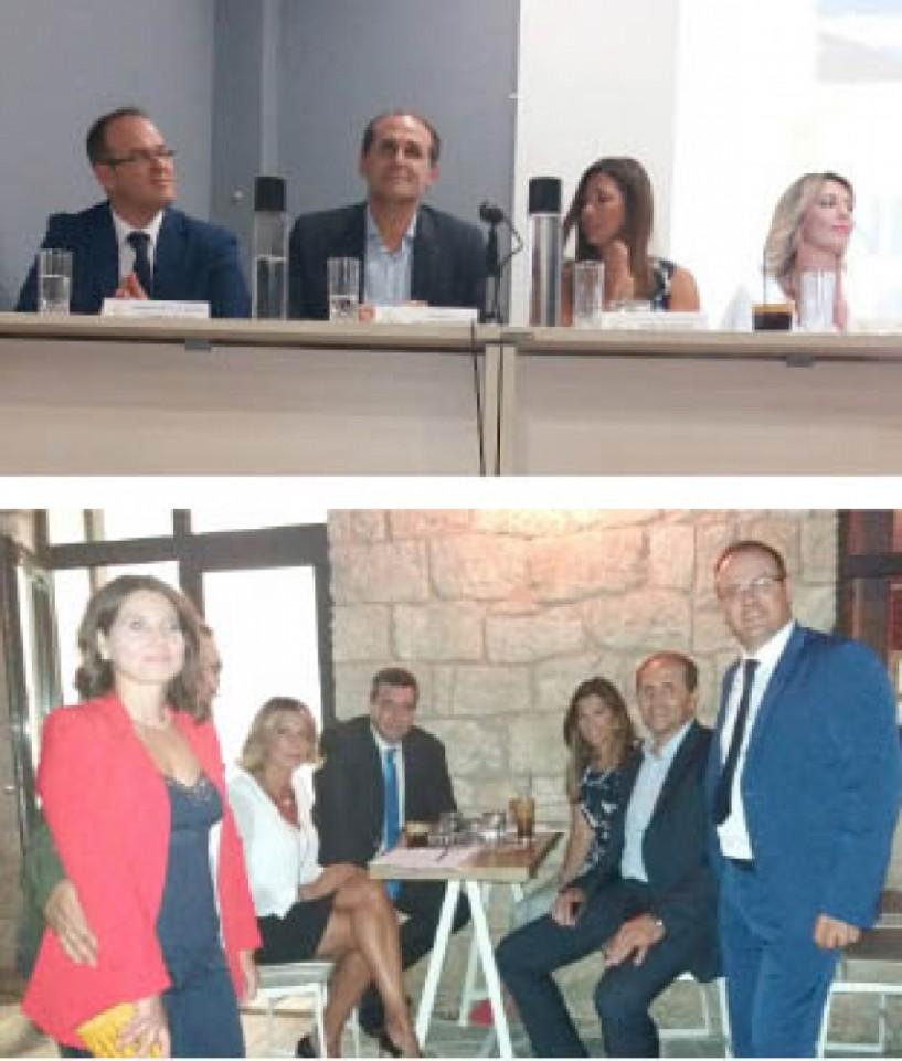 Για την κατάσταση στον αθλητισμό μίλησε η βουλευτής Άννα Καραμανλή χθες βράδυ στη Νάουσα - Επισκέφθηκε το Γηροκομείο και αθλητικές εγκαταστάσεις