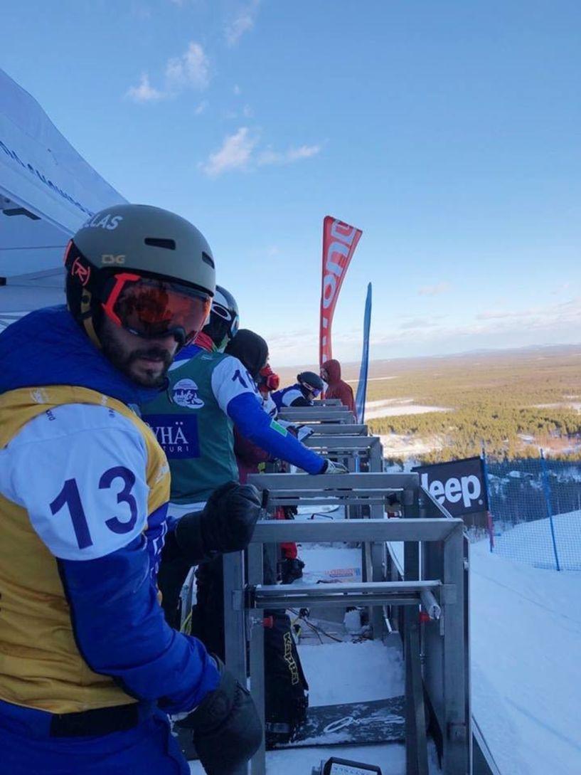 7ος ο Κώστας Πετράκης στο Snowboard Cross - 11oς στο Banked Slalom