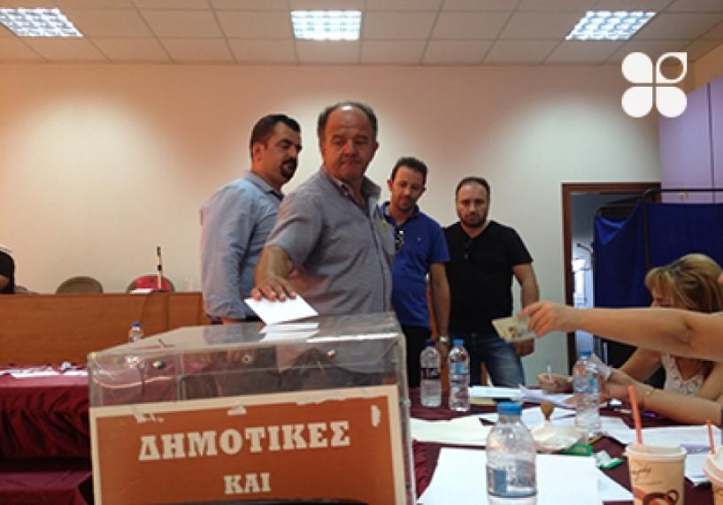 Πρώτοι σε ψήφους με ισοπαλία Παλάσκας, Κύρτσιος στις εκλογές της Πανελλήνιας Ένωσης Κτηνοτρόφων
