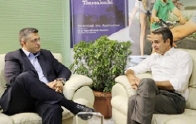Συνάντηση Μητσοτάκη-Τζιτζικώστα στη ΔΕΘ