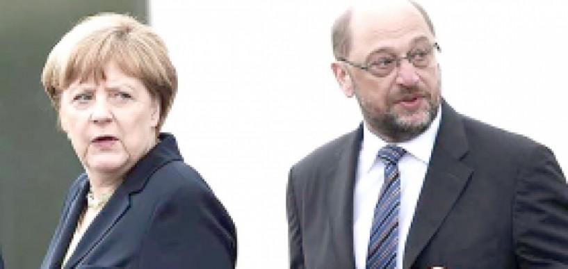 Γερμανικές εκλογές, Μέρκελ, Σούλτς  και άνοδος της ακροδεξιάς
