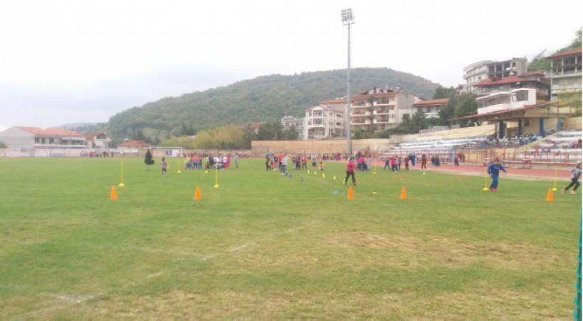 Αθλητικές δράσεις του 5ου Δημοτικού Σχολείου Νάουσας