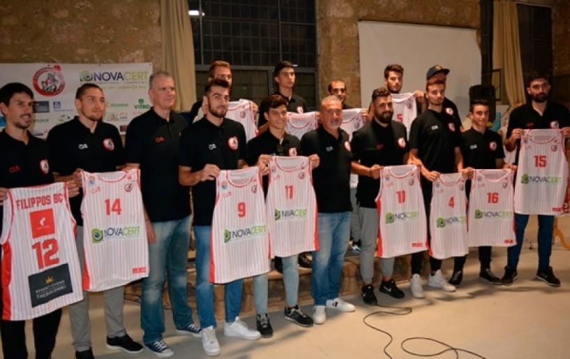 Έγινε η παρουσίαση της ομάδας μπάσκετ του Φιλίππου για την περίοδο 2017-18