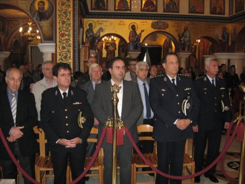 Τον Άγιο Αρτέμιο και την «Ημέρα της Αστυνομίας» τίμησε η Διεύθυνση Αστυνομίας Ημαθίας