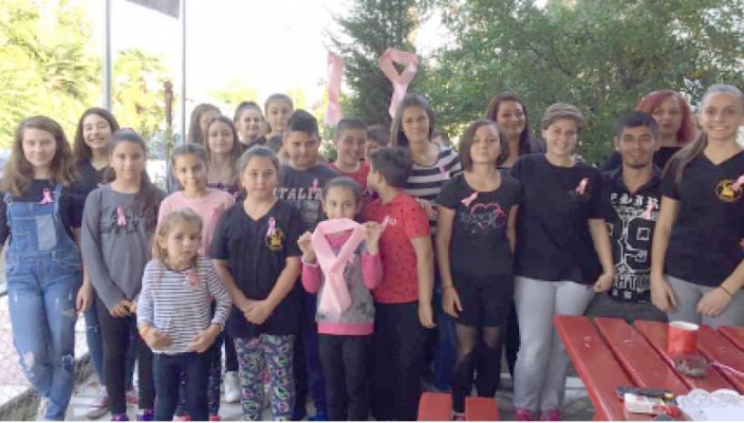 Στην εκστρατεία ενημέρωσης κατά του καρκίνου του μαστού συμμετέχει η Εύξεινος Λέσχη Χαρίεσσας