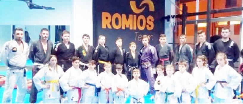 Για το κύπελλο προετοιμάζεται η ομάδα Jiu-Jitsu του Α.Σ. Ρωμιός