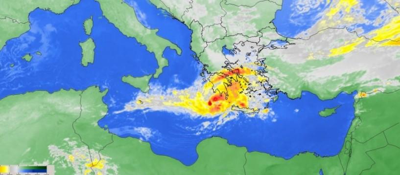 Νέα κακοκαιρία: Ερχεται μεσογειακός κυκλώνας
