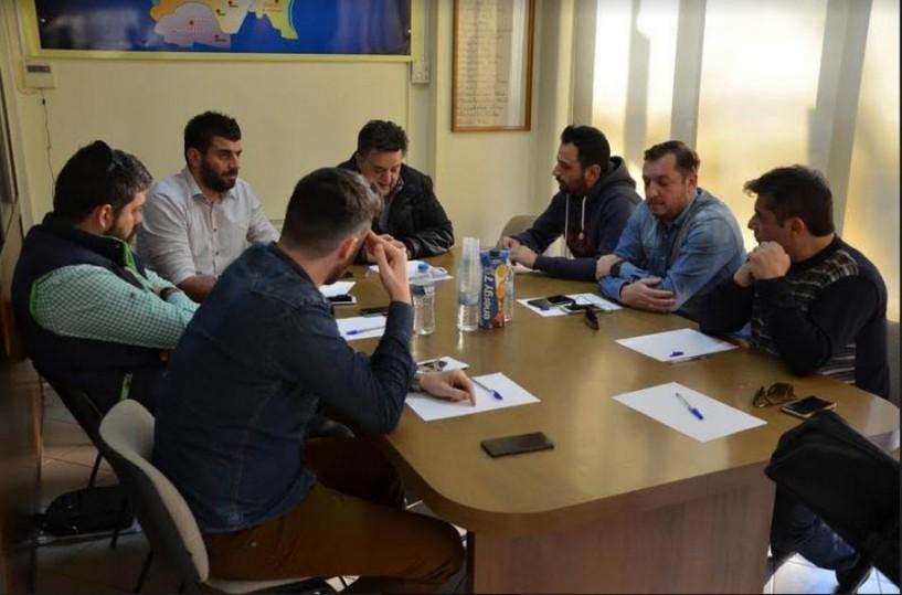 Συνάντηση Γιώργου Μπίκα με τον εμπορικό σύλλογο. Θετική ανταπόκριση για ίδρυση παραρτήματος του Επιμελητηρίου Ημαθίας στην Αλεξάνδρεια