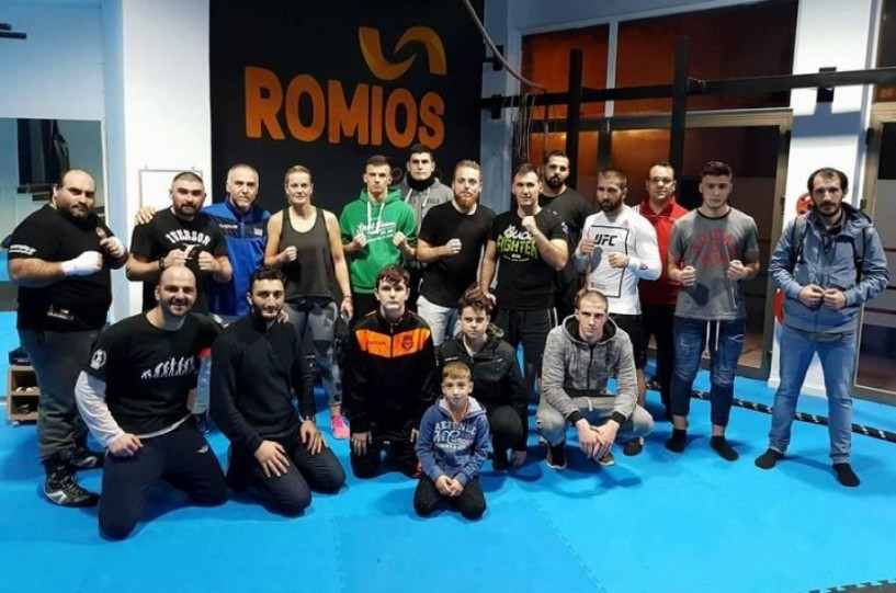 Ρωμιός: 2ο σεμινάριο πυγμαχίας από την Παγκόσμια Πρωταθλήτρια πυγμαχίας Έλενα Πλατάνα