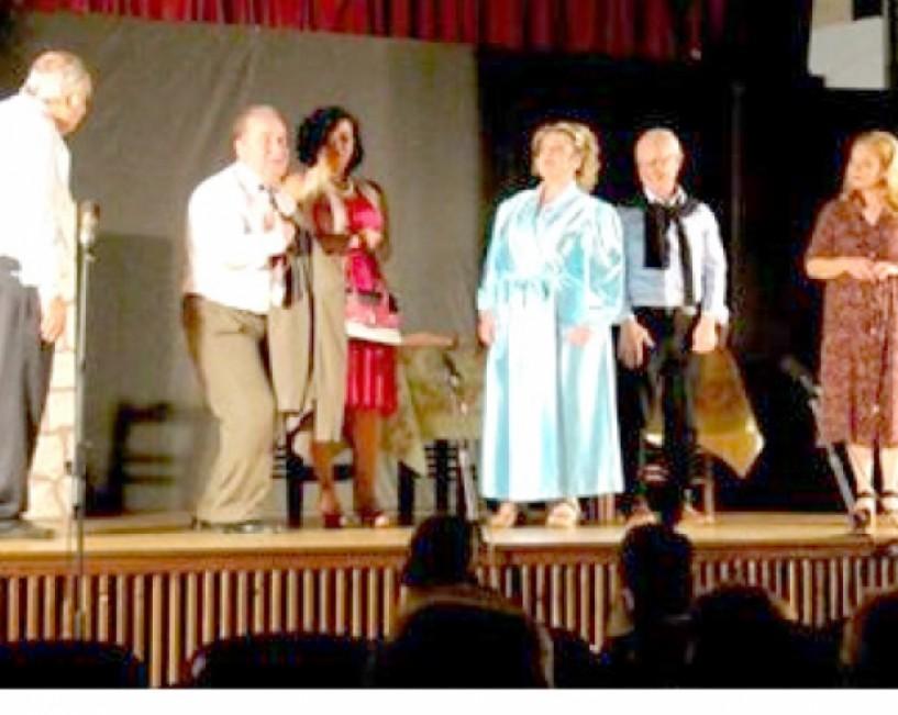 Θεατρική παράσταση από τον   «Προμηθέα»  για την ενίσχυση της Μονής Καλλίπετρας
