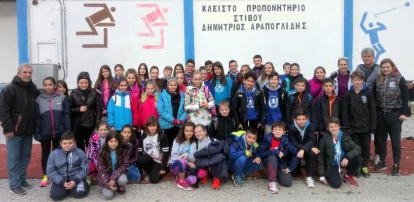 Σε αγώνες κλειστού στίβου στην Πτολεμαΐδα οι αθλητές της Γ.Ε. Νάουσας