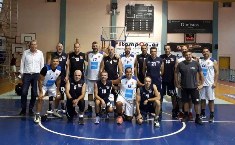 Με νίκη γιόρτασαν την Παγκόσμια μέρα βετεράνων του μπάσκετ   οι  VERIA WARRIORS
