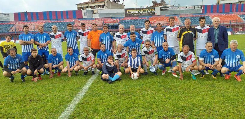 Σε αγώνα παλαιμάχων η Βέροια κέρδισε την Κόρινθο με 3-1.