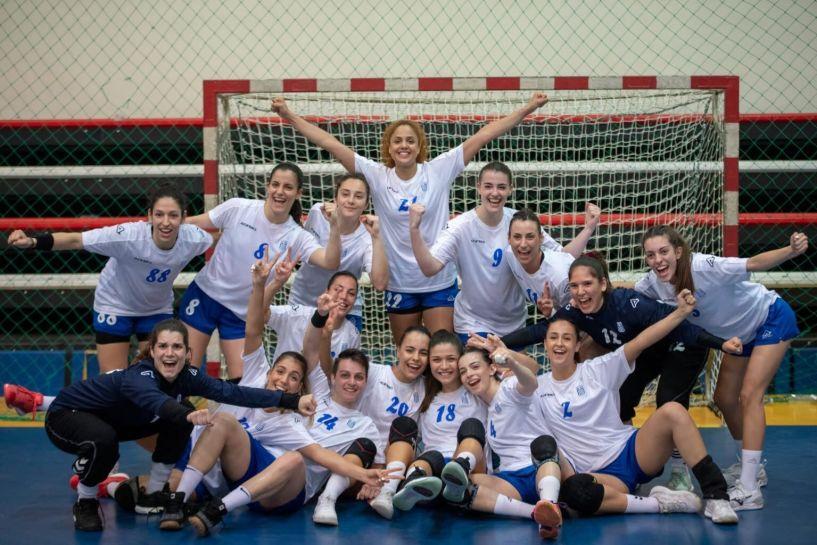 Με Κωστοπούλου, Ζενέλι, και Βασιλειάδου της Βέροιας 2017 η Εθνική χαντ μπολ γυναικών