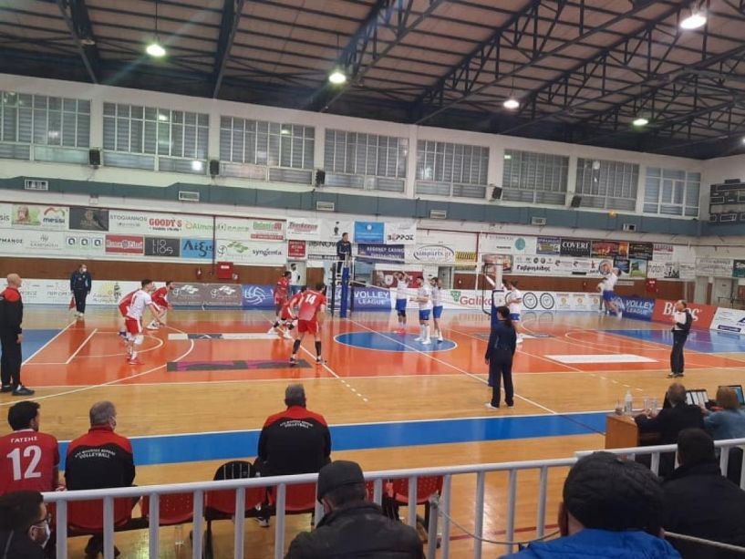 HelleniC Volleyball League.Νικηφόρα ανατροπή της Κηφισιάς στη Βέροια, 3-2 τον Φίλιππο