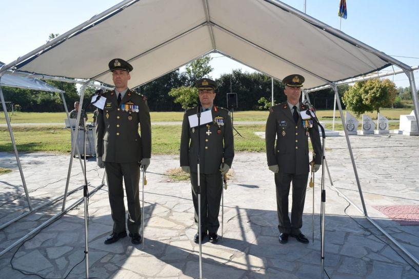 Πραγματοποιήθηκε η τελετή παράδοσης - παραλαβής της Διοίκησης του 3ου ΤΕΑΣ, στο Παλαιοχώρι