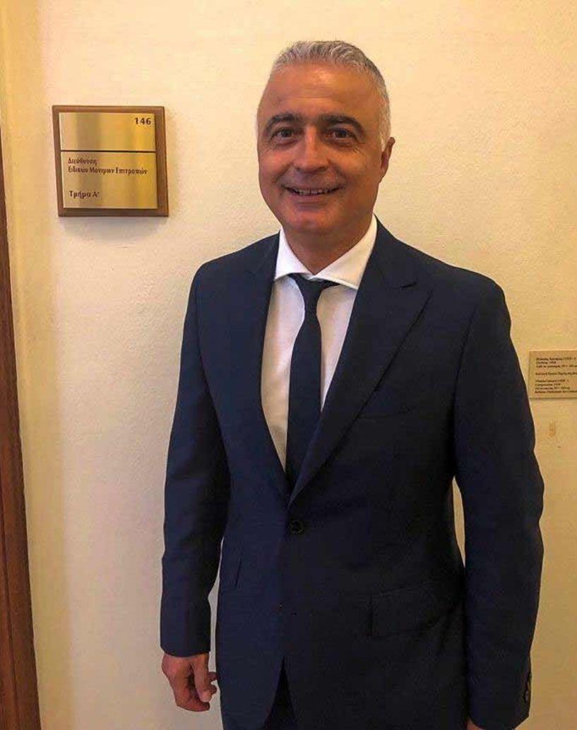 Ο Λάζαρος Τσαβδαρίδης Πρόεδρος της Επιτροπής Απολογισμού, Ισολογισμού και Ελέγχου και Εκτέλεσης του Προϋπολογισμού του Κράτους
