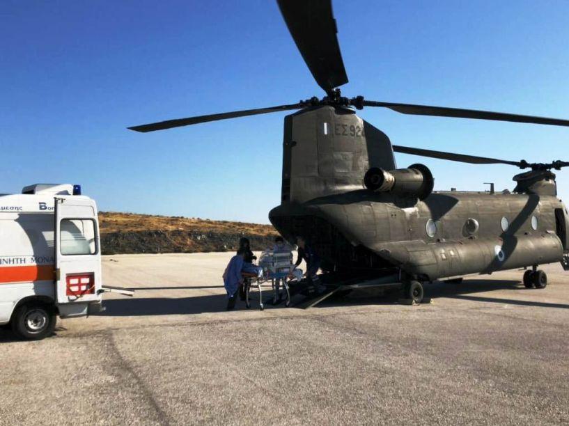 Κοινωνική Προσφορά Στρατού Ξηράς, Μηνός Μαΐου 2018 στον Τομέα των Αεροδιακομιδών