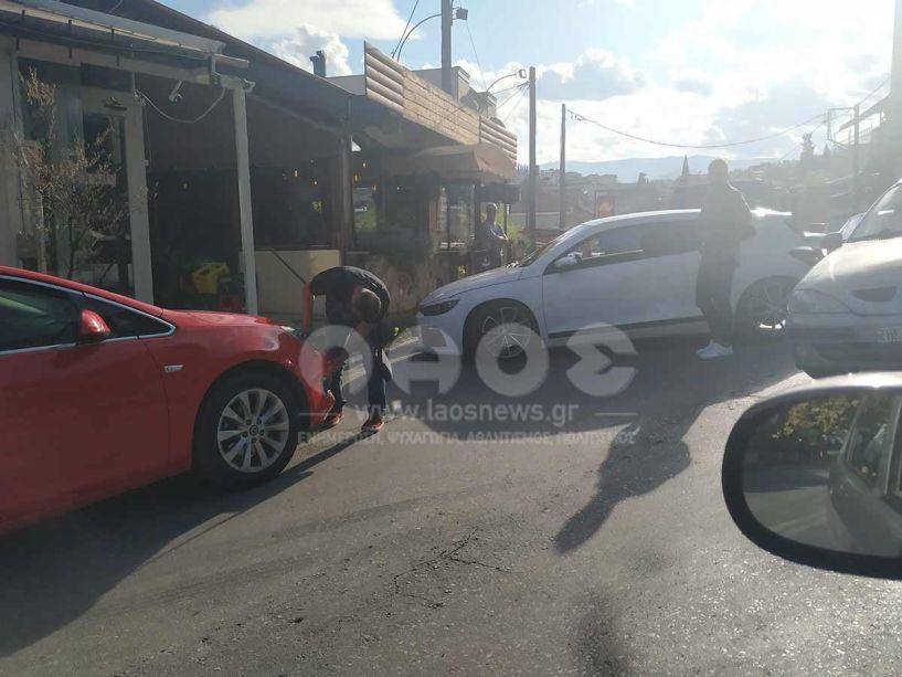 Ατύχημα στην ανηφόρα του μπάσκετ χθες το απόγευμα!