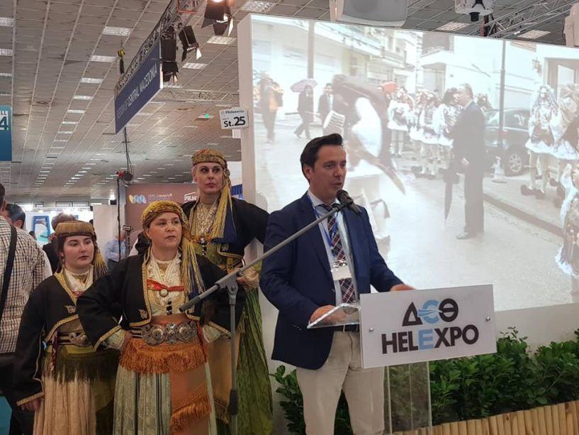 Νικόλας καρανικόλας από την 35η Philoxenia στη Θεσσαλονίκη: