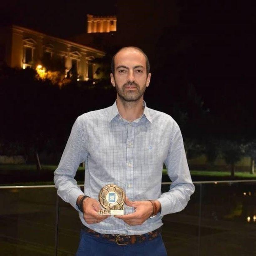 Οι βραβεύσεις του  χάντμπολ στην Ακρόπολη - Τιμήθηκαν Σανίκης, Τσικίνας, Μπατζαρακούδη, Μούρνου και ο Δήμος Βέροιας