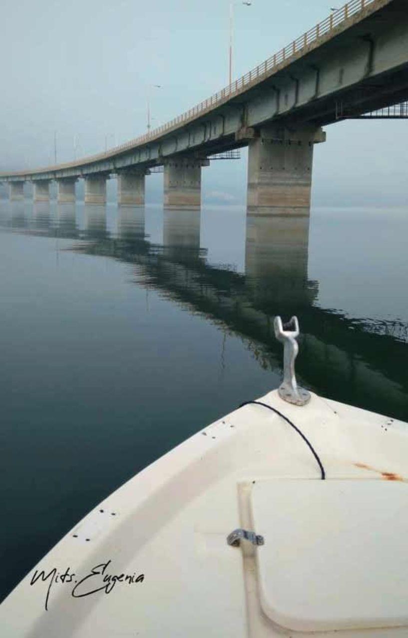Βίντεο από την γέφυρα Σερβίων μέσα από βάρκα