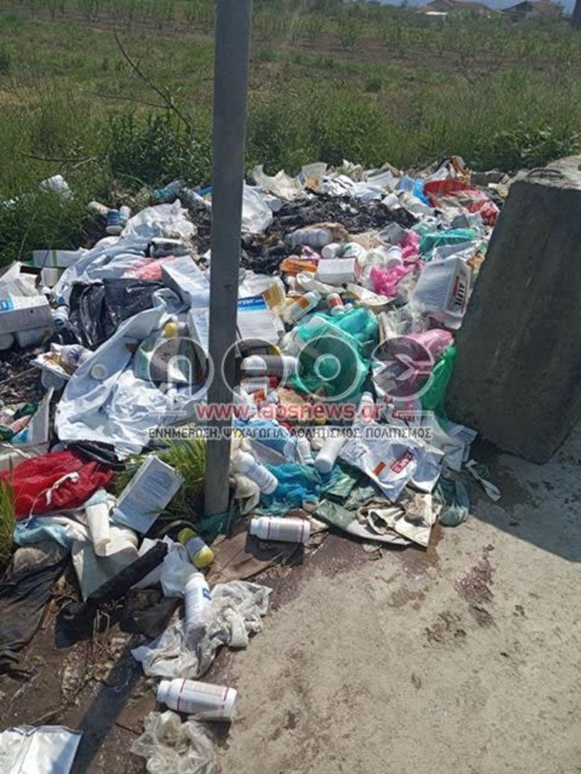SOS από κατοίκους του Μακροχωρίου για τον «βομβαρδισμό» από φυτοφάρμακα