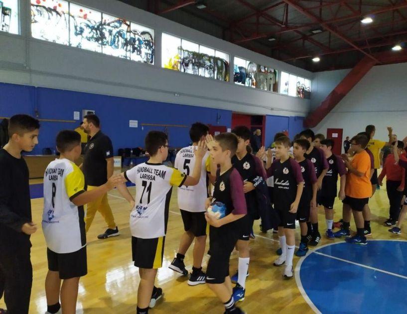 Έδειξαν τον δρόμο Larissa Handball Club και Φέρωνας Βέροιας στο τουρνουά που έγινε στην Λάρισα