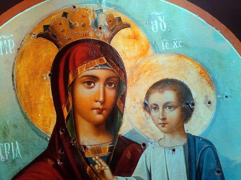 Παναγία η Μελικιώτισσα: Η εικόνα με τις 55 σφαίρες που υπάρχει στη Μελίκη! - Η ιστορία της και το σύγχρονο θαύμα!