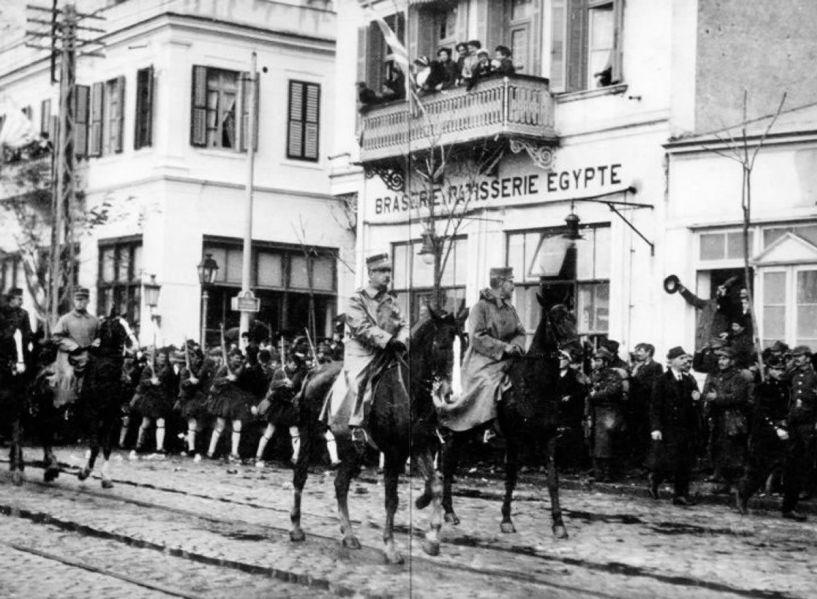 26 Οκτωβρίου 1912: To χρονικό της απελευθέρωσης της Θεσσαλονίκης από την Οθωμανική αυτοκτατορία