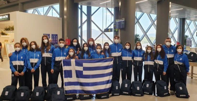 «Πέταξαν» για την Ιταλία οι μικροί πρωταθλητές της ακροβατικής γυμναστικής. Μετέχουν οι ομάδες του Φίλιππου Μελίκης και της Βερόης Βέροιας
