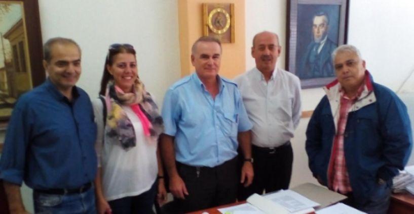 Τη Δημοτική Αστυνομία Βέροιας επισκέφθηκε κλιμάκιο της Ν.Ε. Ημαθίας του ΣΥΡΙΖΑ
