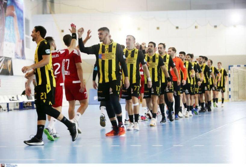 """Στο """"Γ. Κασιμάτης"""" και οι δύο αγώνες της ΑΕΚ με την Πριστίνα του 3ου Γύρου του EHF European Cup"""