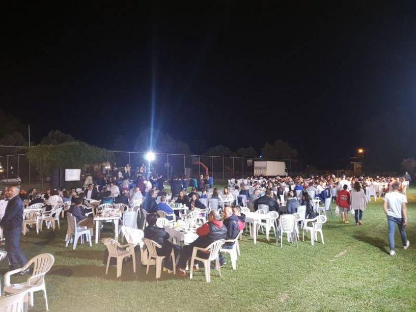 Επιτυχημένη η μουσική βραδιά που διοργάνωσαν ΑΕΠ Βέροιας και Εθνικός Ράχης Τιμήθηκε ο Κώστας Πετράκης
